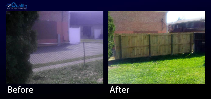 Before and After Fences