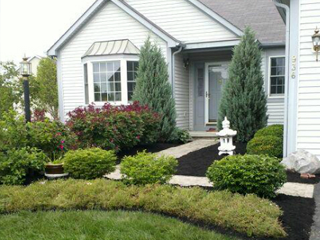Landscaping Doorway
